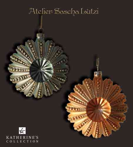 Glass Sea Urchin Ornament, Glas- Seeigel